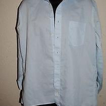 Christian Dior Modern Fit Blue Dress Shirt 16 Photo