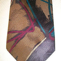 Christian Dior Monsieur Designer Necktie. High End Fashion Neck Tie. Photo