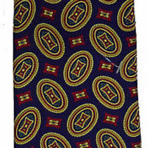 Christian Dior Monsieur Silk Tie Geometric Executive Luxury Necktie Classic Photo