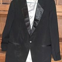 Christian Dior Monsieur Sz 42 Long Made in u.s.a. Coat Suit Jacket Blazer v Nice Photo