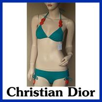 Christian Dior New Women Swim Suit Bikini Swimsuit Sz 8 Photo