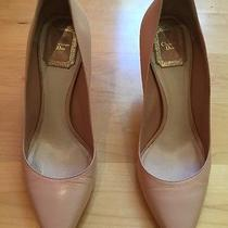 Christian Dior Nude Beige Blush Pumps Elegant and Timeless Sz 38 8 Photo