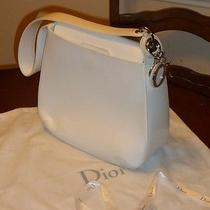 Christian Dior Off White Purse Bag Photo