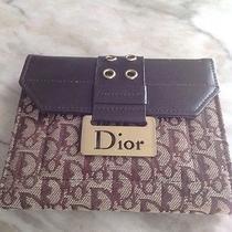 Christian Dior Original Vtg Wallet Photo