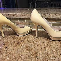 Christian Dior Patent Leather Ivory 4
