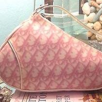 Christian Dior Pink Monogram Saddle Wristlet Priced to Sell Hurry Low Price Photo