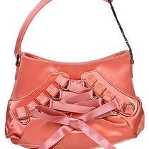Christian Dior Pink Satin Corset Hobo Handbag Photo