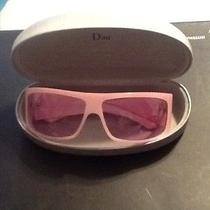 Christian Dior Pink Sunglasses  Photo