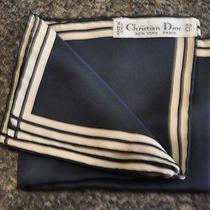 Christian Dior Pure Silk Pocket Square/hankerchief Photo