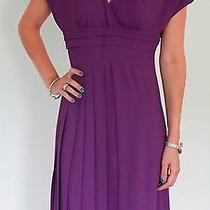 Christian Dior Purple Dress Photo