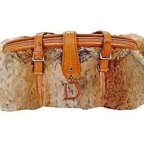 Christian Dior Rabbit Fur Evening Handbag / Purse Photo