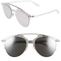 Christian Dior Reflected 52mm Sunglasses White Palladium Photo