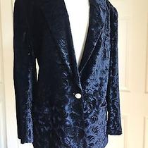 Christian Dior Separates Black Velvet Jacket Size - 14  Photo