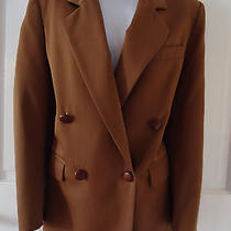 Christian Dior Separates Paris New York Like Lrl Size  8 Brown Wool Jacket Coat  Photo