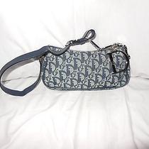 Christian Dior Signature Fabric and Leather Small Purse Photo