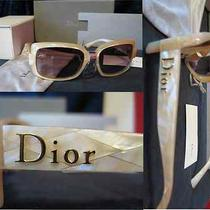 Christian Dior Sunglasses 60s/2/s/0try/02/56/17-Retro-Mother of Pearl-Logo-Nib Photo
