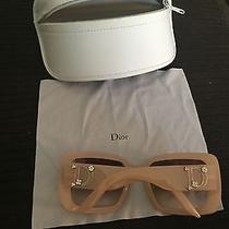 Christian Dior Sunglasses Blush Frames With Crystal Photo