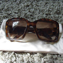 Christian Dior Sunglasses Dior Couture 1 583s2 Havana Tortoise Vintage Nice  Photo