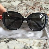 Christian Dior Sunglasses Taffetas 2 Black 807 Hd -Black Photo
