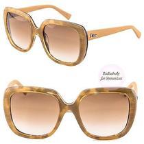 Christian Dior Taffetas Women's Sunglasses Taffetas1 2fcba Orange Brown Photo