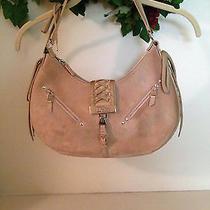 Christian Dior Tan Suede Corset Shoulder Bag Photo