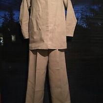 Christian Dior Vintage  Linen Blend  Blazer Jacket & Pants Set  Size 6 Photo