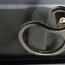 Christian Dior Vintage Sterling Silver Horse Shoe Nail Key Ring Photo