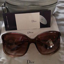 Christian Dior Volute 2/s Sunglasses Gold / Brown Gradient Women Sunglasses Photo