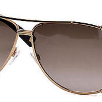 Christian Dior Women's Sunglasses Chicago2 Strass/s 63 Mm Gold Soft Brown Sut Photo