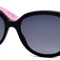 Christian Dior Women's Sunglasses Envol 2/s 56 Mm Black White Pink Lwr Photo
