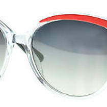 Christian Dior Women's Sunglasses Metaleyes 1/s 57mm Crystal Coral 60c Photo