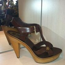 Christian Dior Wood Heel Sandal Photo