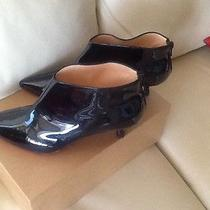 Christian Loubotin Short Boots With Small Heels Lacquered Size 7  Photo