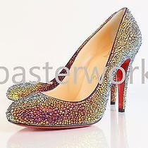 Christian Louboutin and Other Shoes Strass Crystallizing Service  Photo