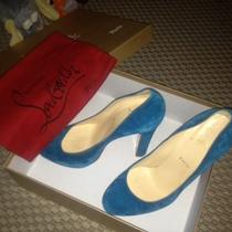 Christian Louboutin Bibi 120 Veau Velours  Photo
