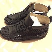 Christian Louboutin Black/black Size 41.5 Photo