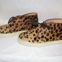 Christian Louboutin Leopard Print Pony Hair Low Top Sneakers Photo