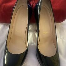 Christian Louboutin New Simple Pump 120 Size 38 Iconic Red Bottom Heels Photo