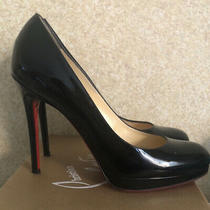 Christian Louboutin Pumps 120 Patent Black 38.5 Photo