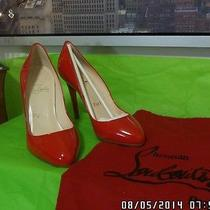 Christian Louboutin Red Heels Photo