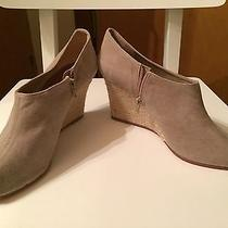 Christian Louboutin Size 41 Wedge Canvas Bootie - Never Worn Photo