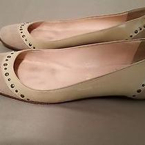 Christian Louboutin Studded Slip on Flats Size 37 Made in Italy Photo