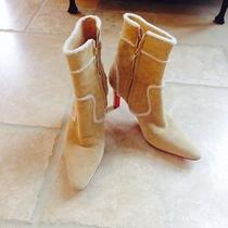 Christian Louboutin Suede Boots Photo