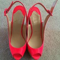 Christian Louboutin Une Plume Size 36.5 Brand New Never Worn Photo