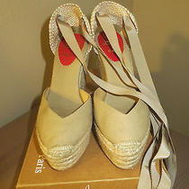 Christian Louboutin Victoire Espidralles in Beige Photo