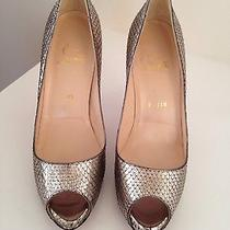 Christian Louboutin Water Snake Skin Very Prive 120 Photo