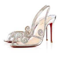 Christian Louboutin Wedding Shoe Sz 36.5 Photo
