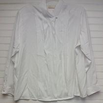 Christie and Jill Womens Off White Blouse Size 20 Photo