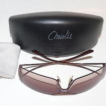 Christie Brinkley Sunglasses Orlando Brown With Brown Gradient Lens Case/cloth Photo