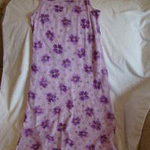 Christie Brooks Girls Size 14 Trendy Style Lavendar Floral Dress Photo
